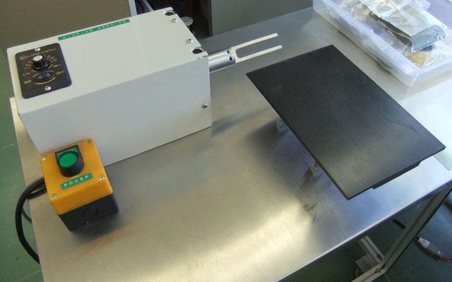 図3 電極シート捲回治具