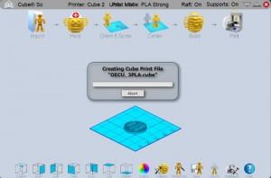 図4 cube softwareで「.cuby」形式のデータに変換